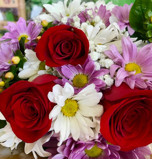 Red Roses and Daisies (Buy The Bunch)