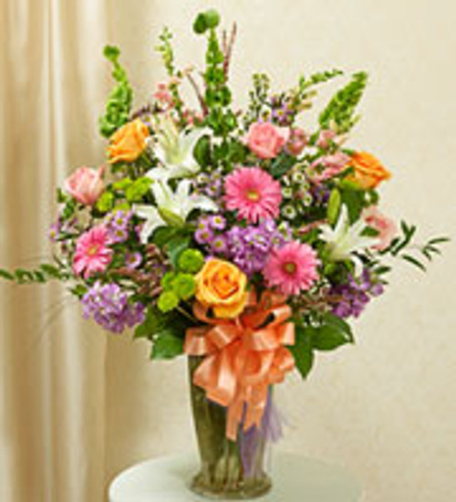 Colorful Gathering Vase