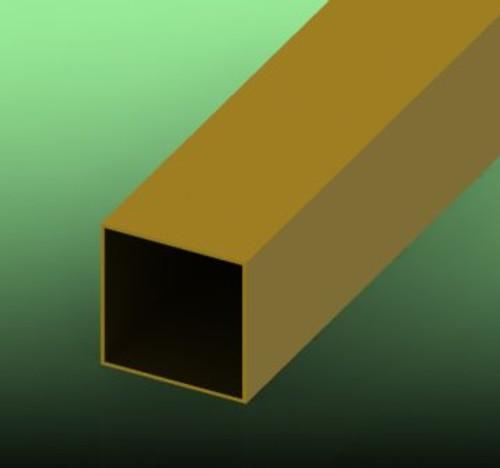 Brass, Square Tube