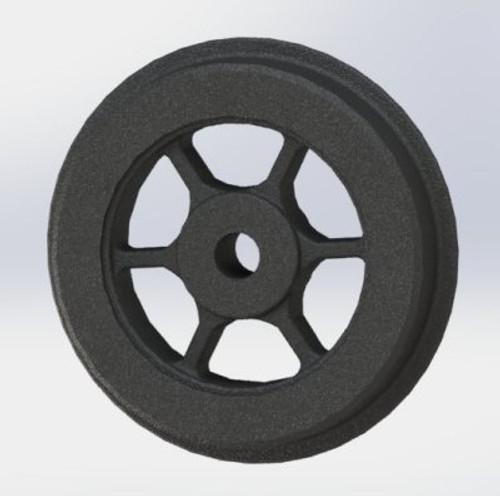 A12 Bogie Wheel cast Iron 6 spoke