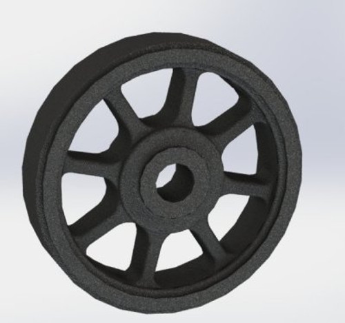 A12 Tender Wheel 8 spoke