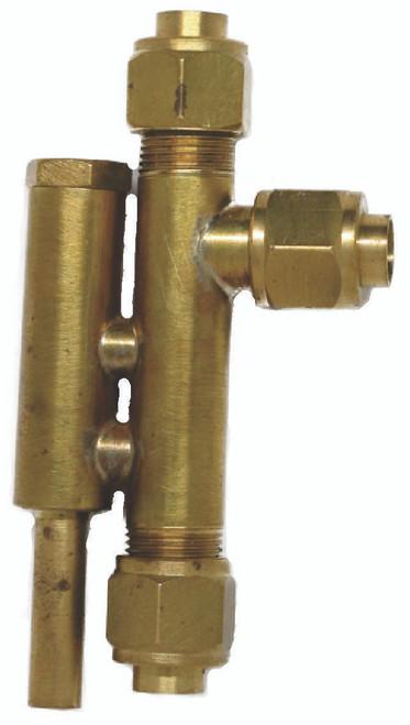 """Vertical Injector for 7 1/4"""" gauge locos"""