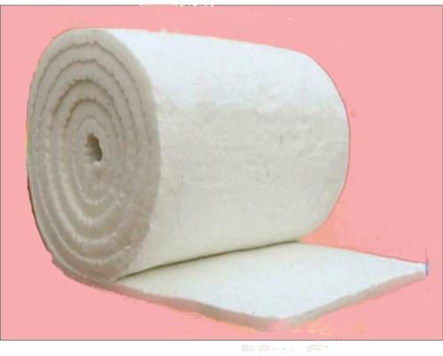 High temperature ceramic fibre blanket insulating