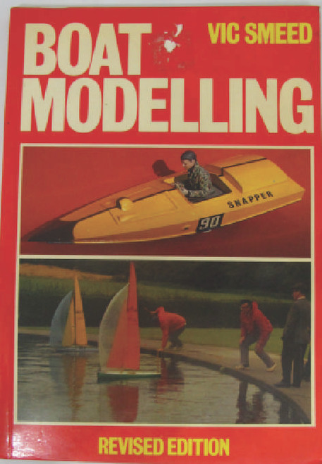 New and unused, old stock item some shop worn damage to cover but otherwise good condition. Covers sailboats, electric and steam. A little dated now but some good basic info on construction and finishing model boats before the age of plastics and fiberglass.