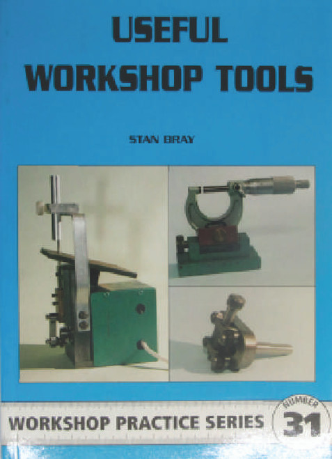 "A collection of 15 additions to the model engineer's armoury of tools and equipment from the former editor of ""Model Engineer's Workshop"" magazine. This practical collection covers benchwork, the lathe and milling operations, and includes: marking-out and machining aids; a simple motorized filing machine; an unusual and improved milling vice; a micrometer stand; internal and external chuck stops; cross drilling jigs; a hand turning rest; rear mounted toolposts; and a self-releasing mandrel handle.  Book is a little shopworn but otherwise in excellent condition, old new stock."