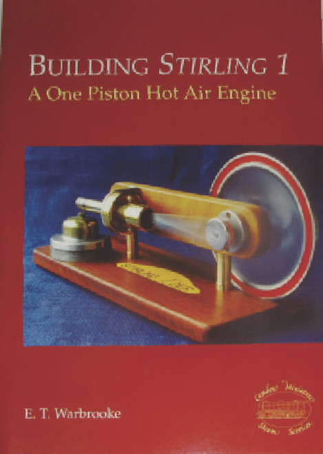 This book contains full drawings for this engine, plus hints and tips on building it, assembly photos etc. Stirling 1 requires no castings, and can largely be made from bits in the scrap box. Simple but accurate turning, some hand work and some soldering are all that is required to build this fascinating engine. Book is in excellent  condition and is unused.