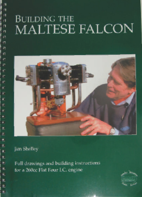 Want to build a flat 4 2 stroke engine? then this the book for you, good solid information aimed at helping the builder to make a 'model' 260cc I.C. engine which really will make people's jaws drop! Wire bound soft cover book in perfect condition, includes 12 A3 foldout plans.