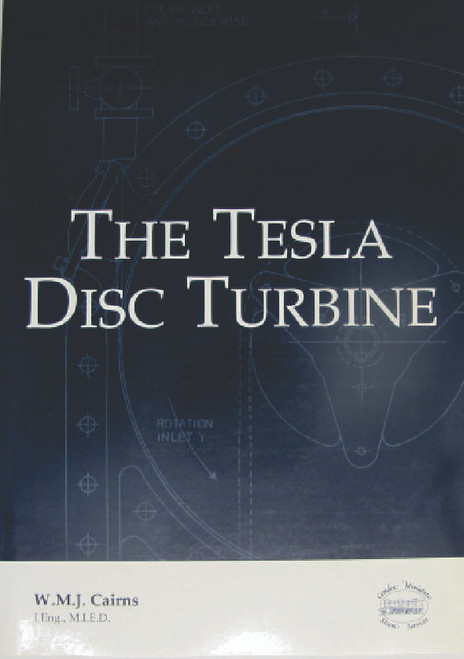 New Book in perfect condition, old stock. High quality 34 A4 format pages. Numerous drawings and sketches, including 6 pages of drawings specifically for a small Tesla turbine you can build.