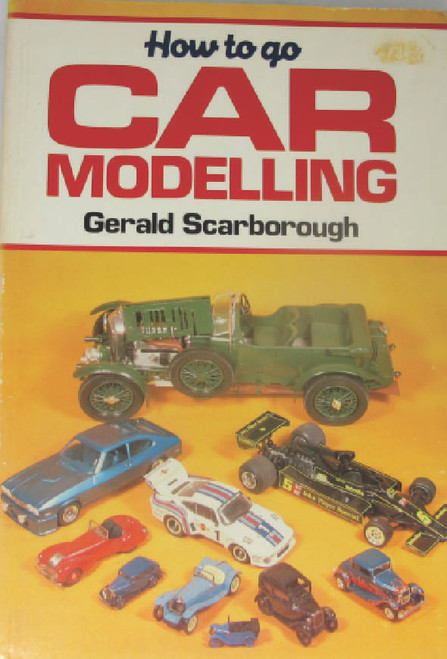 A little dated by now but still of interest to those who want to model their own cars and trucks. Book is softcover, a little shopworn but otherwise in very good and clean condition.