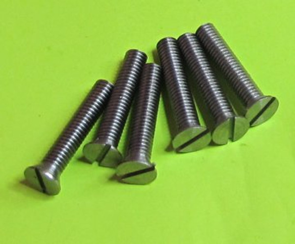 Steel Screws Countersunk Head