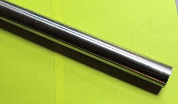 "Ground steel chrome bar type 1045. 400mm x 7/8"""