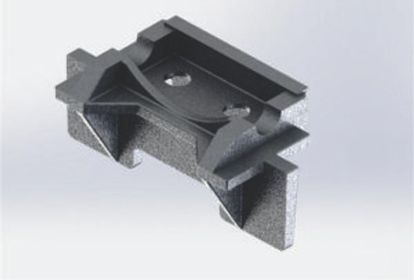 cast iron bottom boiler support