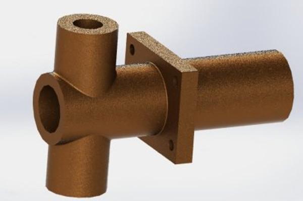 A12 Bronze axle pump casting