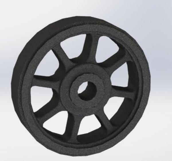 A12 Tender Wheel 8 spoke
