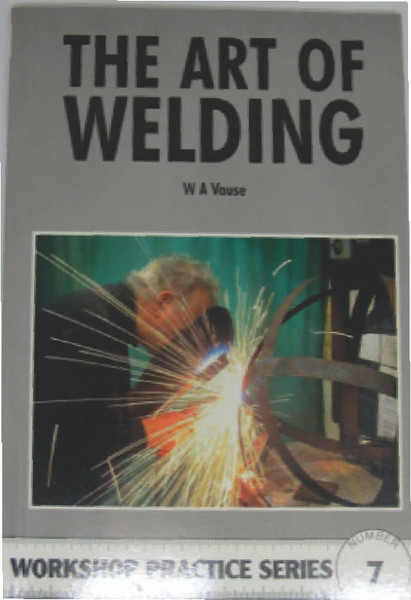 New and unused, basic manual on arc and gas welding