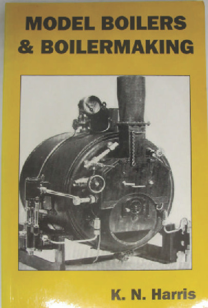A book for model engineers looking to make their own boilers, marine, locomotive, traction or stationery it has it all, many diagrams and useful data. Book is old new stock, unused but in very good condition.