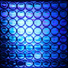 Reflexite 1 Inch Reflective Dots Sheet of 64 Blue