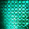Reflexite 1 Inch Reflective Dots Sheet of 64 Green