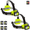 NightStick Intrinsically Safe Permissible Multi-Function Dual-Light™ Headlamp - White and Red LED's - CASE of 2