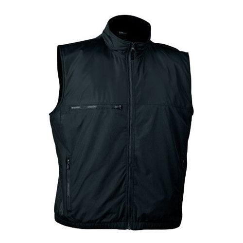 illumiNITE Reflective EMS Storm Vest in Black Front View