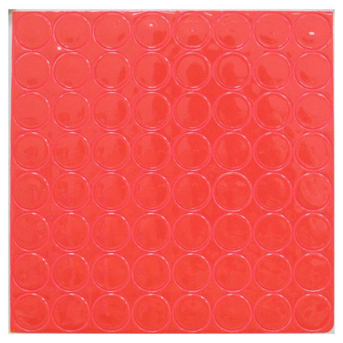 Sheet of 64 11 Colors to Choose From 1in Reflective Adhesive Vinyl Hot Dots