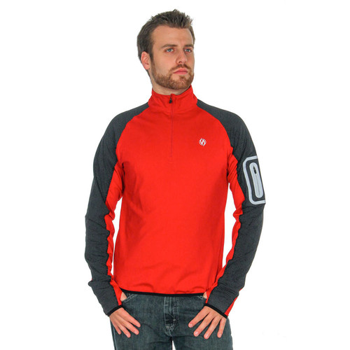 Early Riser Pullover Reflective in red