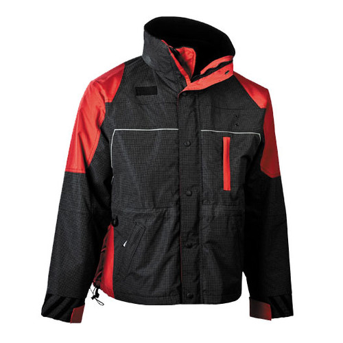 illumiNITE Ascent Mountain Rescue Parka in Red/Black