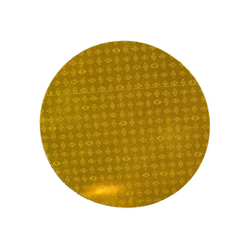 """Reflexite Reflective Agricultural 3"""" Round Yellow Sticker"""