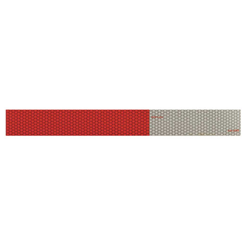 "Reflexite V92 DOT-C2 Daybright 11""Red/7""White Conspicuity Tape"