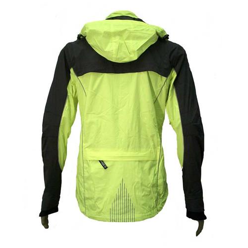 illumiNITE Providence Waterproof Jacket Back Detail