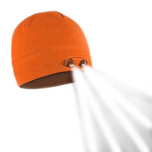 Panther Vision Orange Powercap Beanie