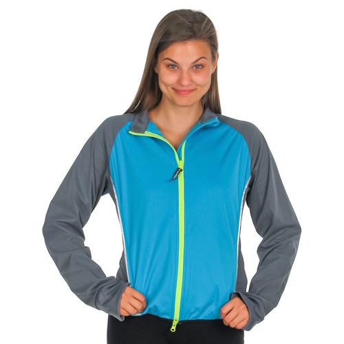 illumiNITE Women's Tailwind Reflective Jacket Peacock