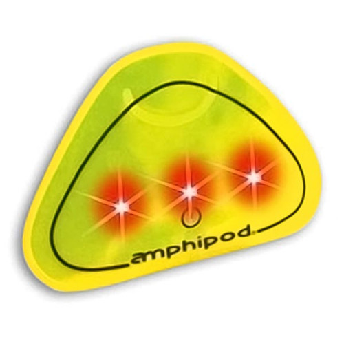 Amphipod Yellow Vizlet Tri-LED Clip-On Reflector 436-1