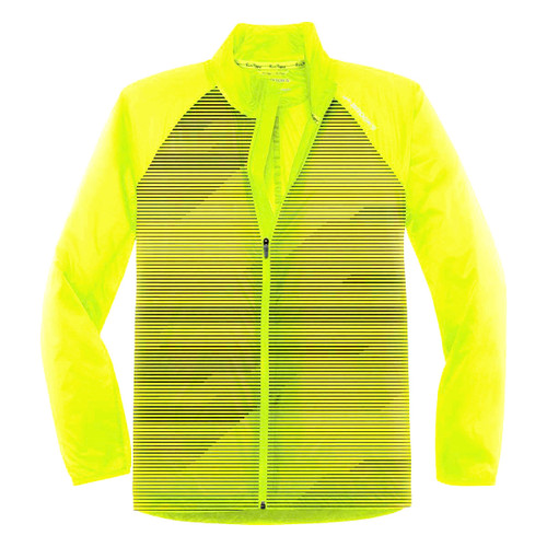 Brooks Running Men's Lite Shelter Device Lightweight NightLife Yellow Jacket