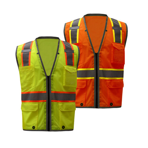 1701/1702 Class 2 Brilliant Heavy Duty Vest