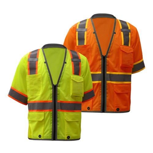 2701/2702 Class 3 Brilliant Heavy Duty Vest