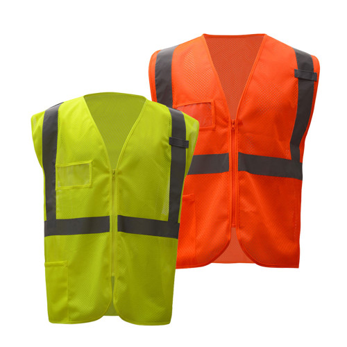 1009/1010 Safety Mesh Vest with ID Pocket