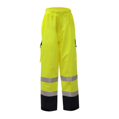 6803 GSS Class E Premium Rain Pants with Black Bottom