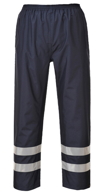 Portwest Iona Lite Pants - SET OF TWO: Back View Navy
