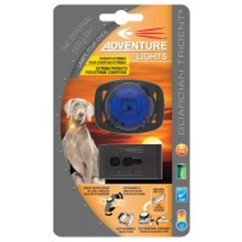 Adventure Lights Guardian Trident DOG Light BLUE - 45002