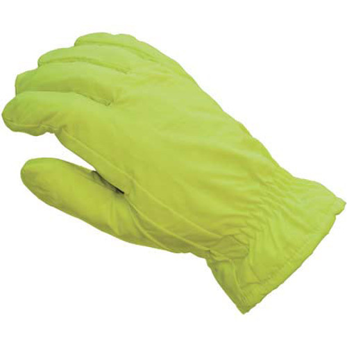 Waterproof Thinsulate Nylon Hi-vis Gloves - Top