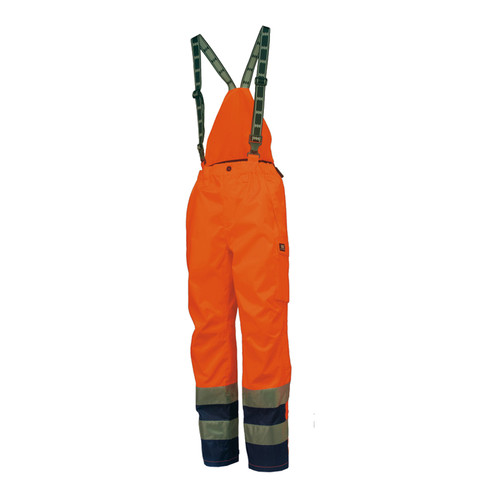 Helly Hansen Mannheim Insulated Pant in ANSI Orange/Navy