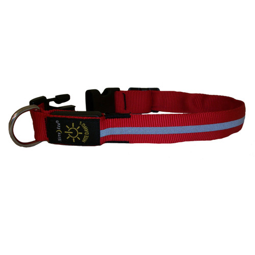 Nite Dawg LED Dog Reflective Collar