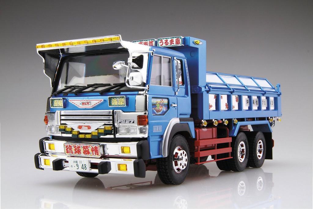 Aoshima 50323 Japanese Decoration Truck Okinawa Ryukyu Bojo 1/32 Scale Kit