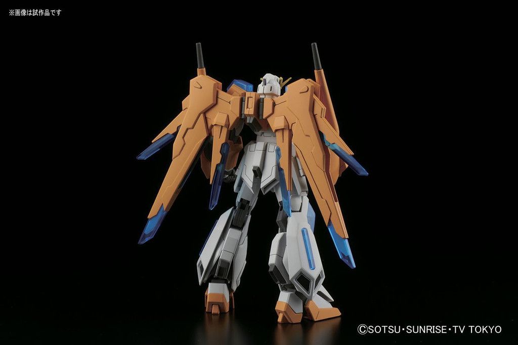 Bandai HG Build Fighters 047 SCRAMBLE Gundam Yajima Engineering Custom Made Mobile Suit 1/144 Scale Kit