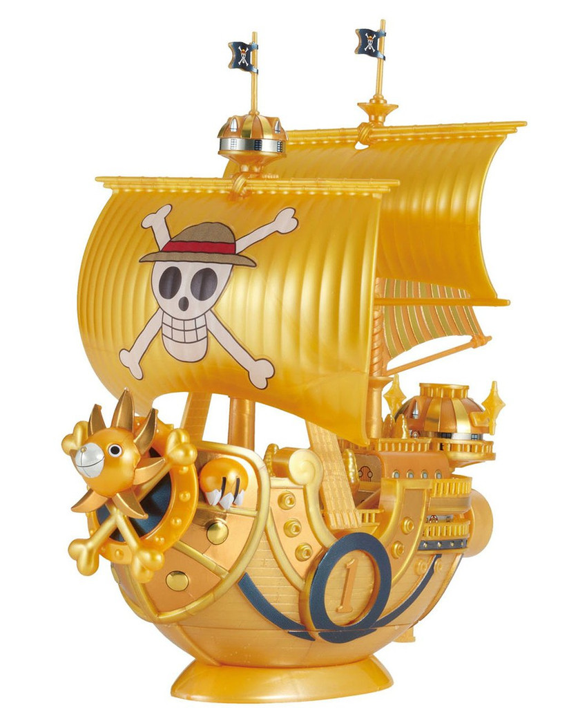 Bandai One Piece Grand Ship Collection Thousand Sunny One Piece Film GOLD