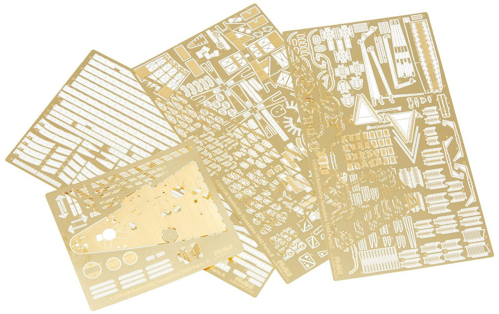 Fujimi 1/350 Gup32 Grade-Up Parts 1/350 Yamashiro Photo Etched Parts