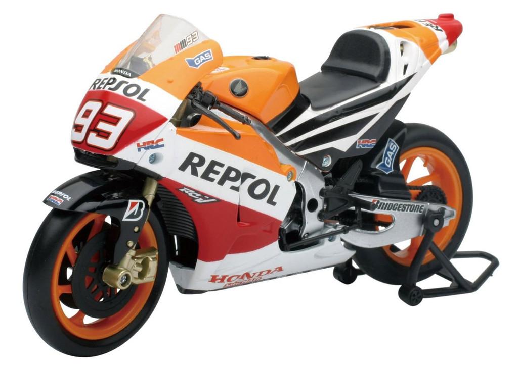 Aoshima Skynet 83789 2014 Repsol Honda Team RC213V MARK MARQUEZ No.93 1/12 Scale