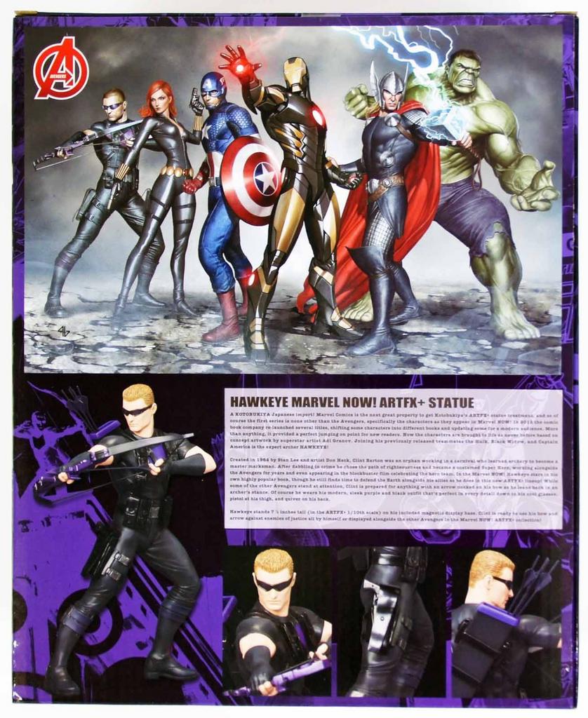 Kotobukiya MK157 ARTFX Avengers Hawkeye PVC Figure 1/10 Scale