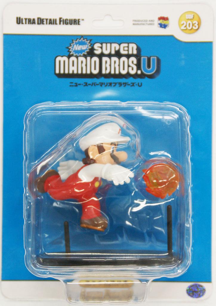 Medicom UDF-203 Ultra Detail Figure Nintendo New Super Mario Bros. U Fire Mario